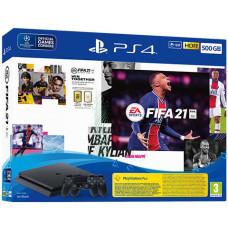 Sony PlayStation 4 Slim 500GB (PS4 Slim 500GB) + FIFA 21 + DualShock 4 Controller Játékkonzol